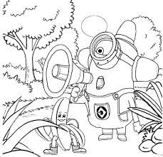 minion coloring pages coloringsuite com