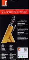 Ebay Kitchen Knives Bergner Bayern Forged German Steel 8 Piece Kitchen Knife Set