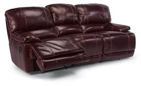flexsteel latitudes belmont reclining sofa with pillow arms