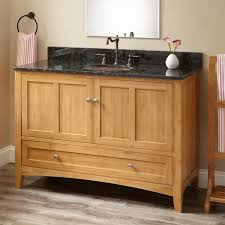 Bamboo Vanity Cabinets Bathroom by 48