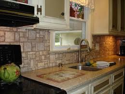 kitchen stone backsplash kitchen designs