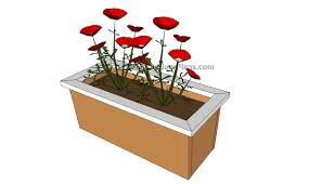 planter box bench plans free bench decoration