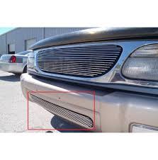 2000 ford explorer fog lights ford explorer 1pc bumper billet grille kit