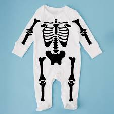 Halloween Skeleton Pregnancy Shirts Spooky Skeleton Fancy Dress Baby Grow By Rusks U0026rebels