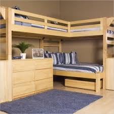 L Shaped Double Bunk Beds Latitudebrowser - Kids l shaped bunk beds