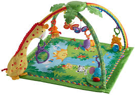 amazon com fisher price rainforest melodies and lights deluxe