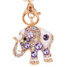 asian crystal ring holder images Zoeber beautifully thailand elephant color crystal handbag pendant jpg