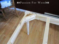 attaching legs to a table surface mount corner brackets for table aprons desks legs and