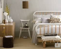 bedroom entrancing bedroom design ideas with white iron bed frame