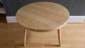 Plywood Coffee Table Circular Plywood Coffee Table Rag N Bone Brown