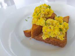 scrambled eggs with smoked salmon chocolates u0026 chai