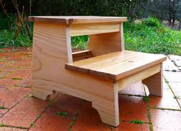Free Wooden Step Stool Plans by Ana White So Sweet Step Stool Diy Projects
