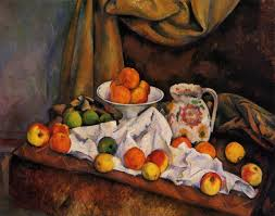 fruit bowl pitcher and fruit 1894 paul cezanne wikiart org