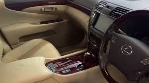 lexus ls backseat 2009 lexus ls600h l rear relaxation pack youtube