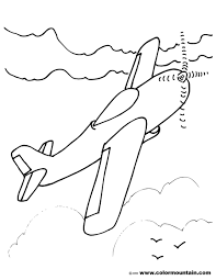 stunt plane color sheet create a printout or activity
