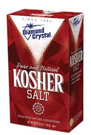 ratio kosher salt to table salt crystal kosher salt crystal salt