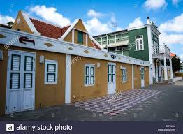 dutch colonial architecture dutch colonial architecture oranjestad aruba stock photo royalty