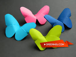 butterfly from paper origami simple butterfly paper youtube