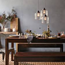 Lighting Over Dining Room Table Boerum Dining Table West Elm