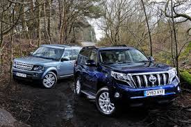 land rover explorer old land rover discovery vs toyota land cruiser auto express