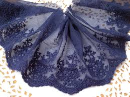 navy blue lace ribbon compare prices on navy lace trim fabric online shopping buy low