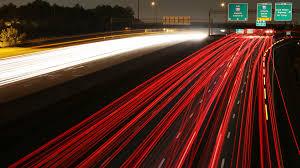 cars highways exposure motion blur time traffic lights