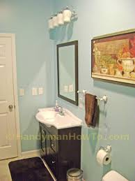 Rough In For Pedestal Sink How To Finish A Basement Bathroom The Complete Series