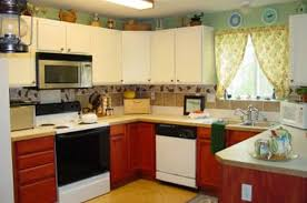Interior Design For Kitchen Images Picture Of L Shapped Kitchen Remodel Yellow Color With Island Idolza