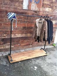 pipe garment rack custom made industrial cast iron pipe clothing