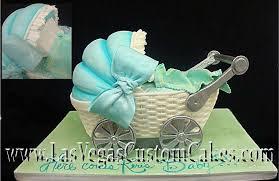 baby carriage cake cakes baby shower las vegas custom cakes