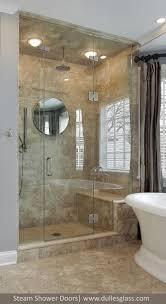 Luxury Shower Doors This Luxury Shower Door Features A Door And Two Panels One Of The
