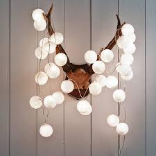 white cotton string lights graham green