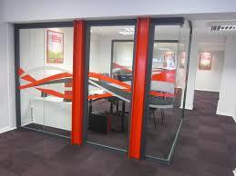 porte de bureau vitr cloison amovible vitrée de bureau open space isolation phonique