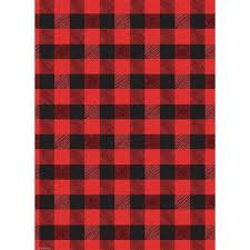 christmas plaid wrapping paper buffalo plaid wrapping paper paper source