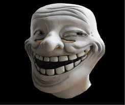 Troll Meme Mask - halloween party rubber the cosplay carnival realistic latex meme