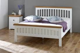 wooden king size bed frame genwitch in solid oak decor 2 wood