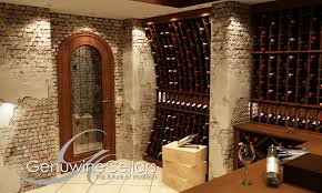 custom wine cellar doors genuwine cellars