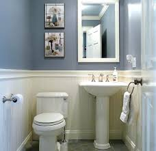 decorating half bathroom ideas bathroom amazing small half bathroom ideas navy blue decorating