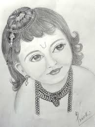 pencil for painting a writer s oasis a pencil sketch of krishna