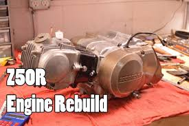 how to honda z50r xr50r crf50f engine rebuild 1968 2015 youtube