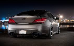 hyundai genesis coupe car hyundai genesis coupe car machinery back of the port hd