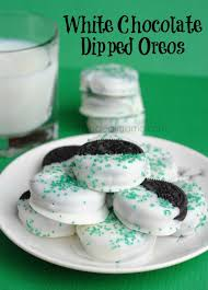 where can i buy white chocolate covered oreos white chocolate dipped oreos with sprinkles wheel n deal