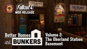 fallout 4 mod release the oberland station basement better