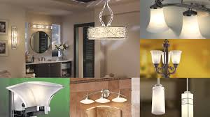 Unique Bathroom Lighting by Kichler Bathroom Light Fixtures Akioz Com