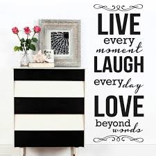 compare prices on live laugh love wall art online shopping buy high quality 42x108cm life laugh love quote modern home living room wall stickers vinyl decorative