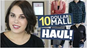 Inexpensive Online Clothing Stores 10 Dollar Mall Haul Try On Affordable Online Clothing Youtube