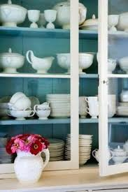 Pottery Barn Kitchen Hutch by Swoon Open Shelving With White Dishes Holman Ledge Pottery