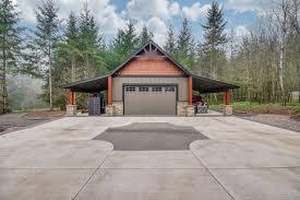 custom home garage brush prairie washington custom home by quail homes craftsman