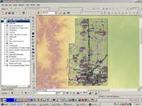 colorado front range map usgs map of the colorado front range infrastructure