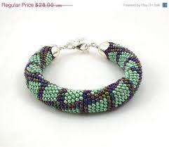 beaded rope bracelet images Sale bead rope bracelet green and multicolor beaded bracelet jpg